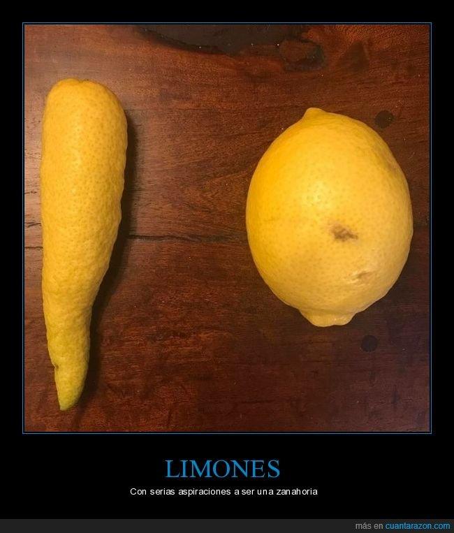 limón,zanahoria