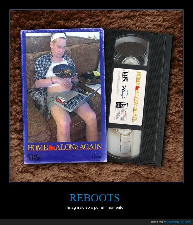 película,reboot,solo en casa,vhs