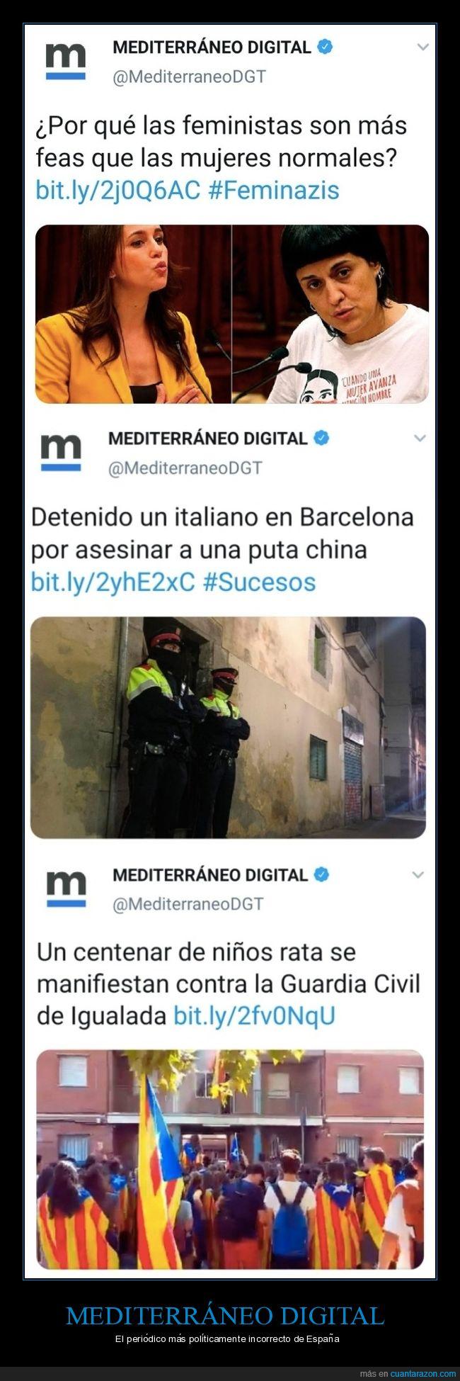 mediterráneo digital,periódico,políticamente incorreto