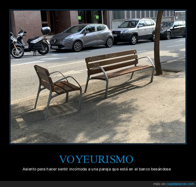 asiento,banco,calle,voyeurismo