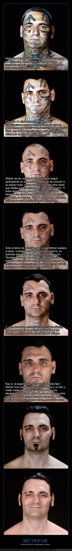 cambiar,cirugía,nazi,rostro,tatuajes