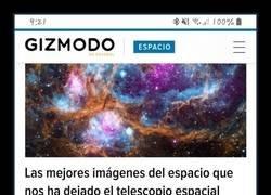 Enlace a Noticias del espacio
