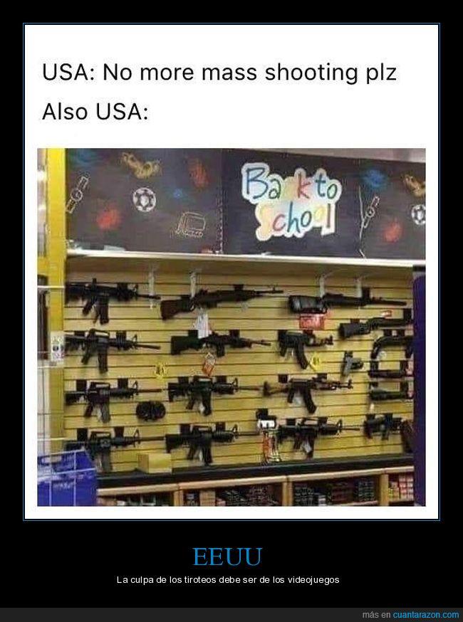 armas,eeuu,tiroteos,vuelta al cole