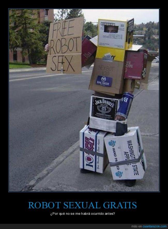 cajas,gratis,robot,sexo,wtf