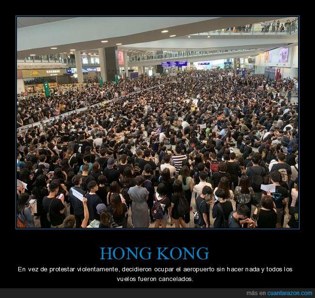aeropuerto,hong kong,protestas