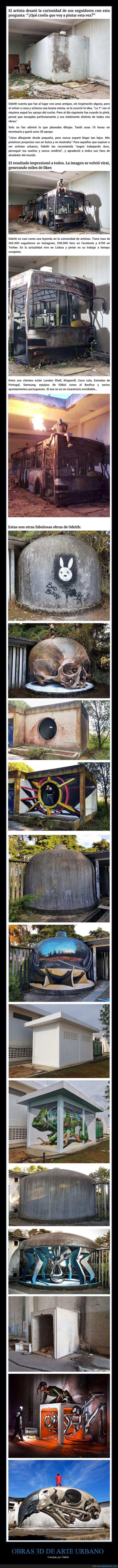 3d,arte urbano,odeith