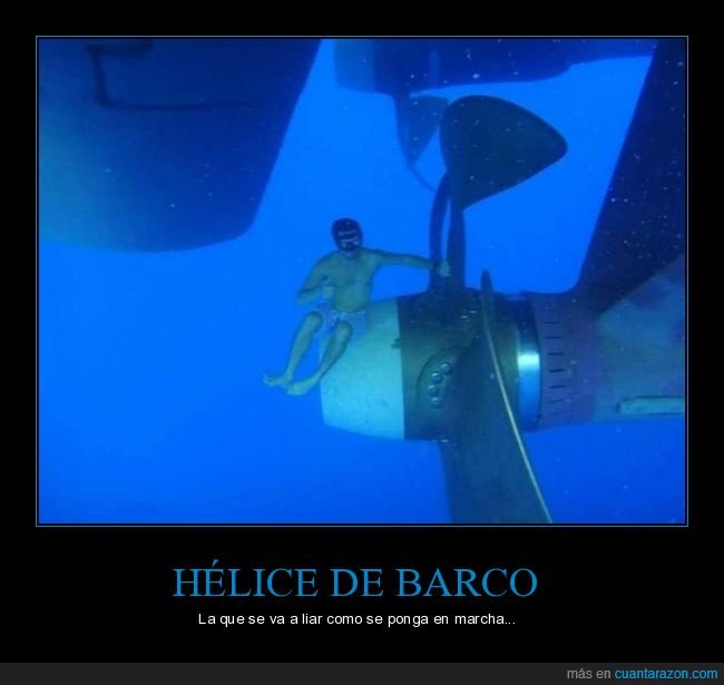 barco,buceador,hélice
