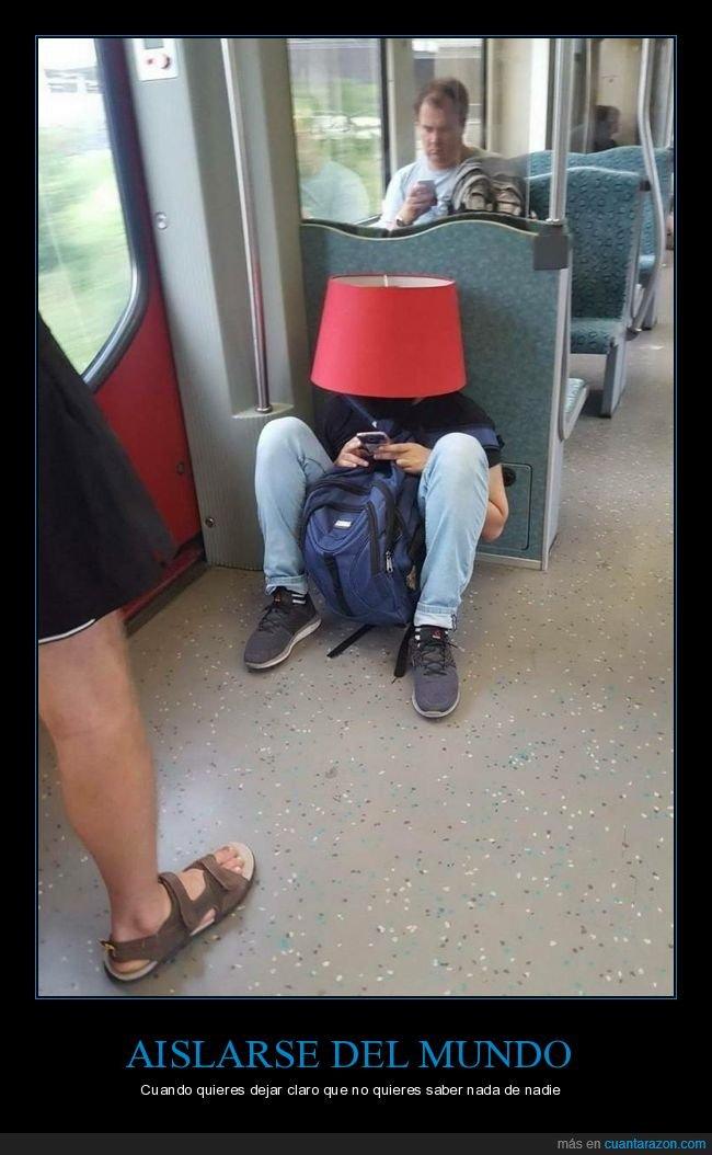 lámpara,tren,wtf