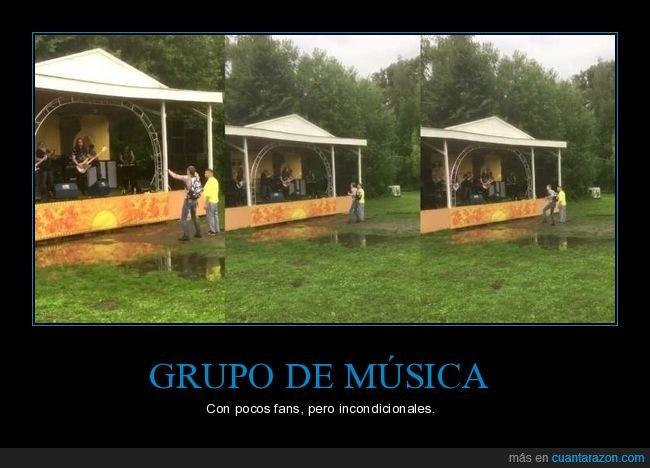 concierto,fans,grupo,público