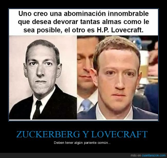 abominación,almas,devorar,lovecraft,mark zuckerberg