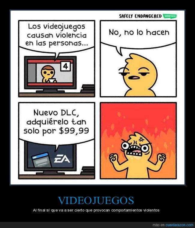 dlc,videojuegos,violencia