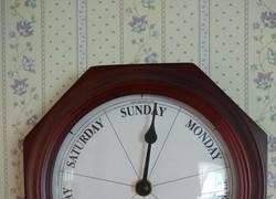 Enlace a Un reloj inusual