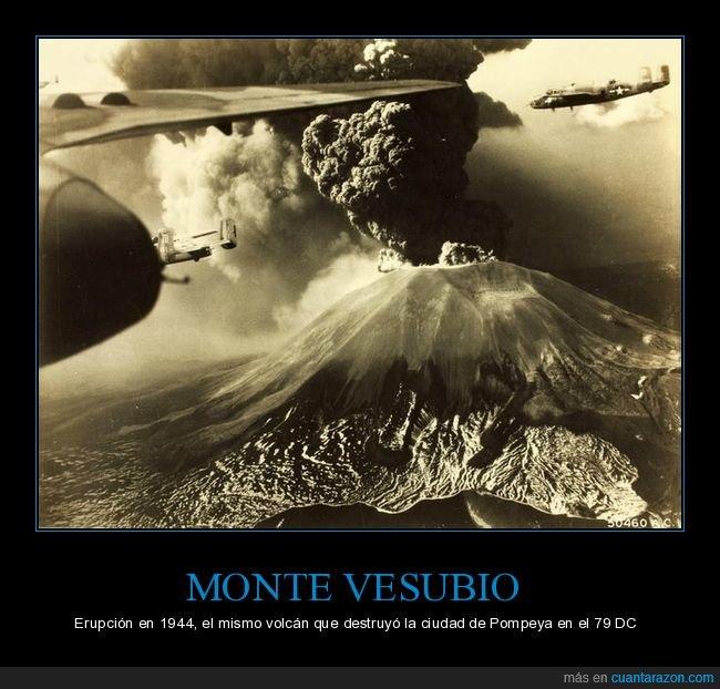 erupción,vesubio,volcán