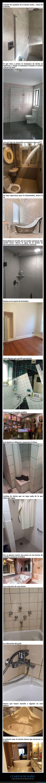 cuartos de baño,diseños,fails