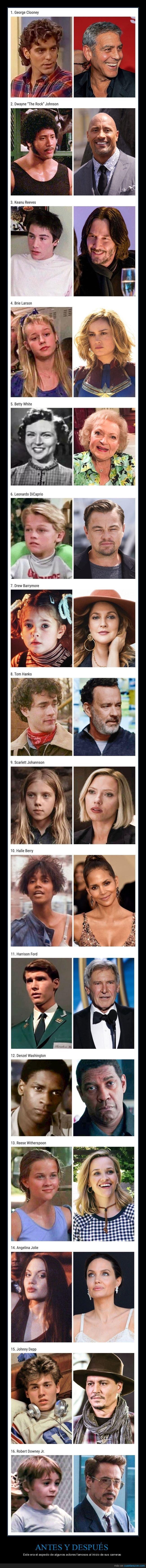 actores,antes,después