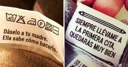 Enlace a Instrucciones inesperadas en etiquetas de ropa que cualquier persona estaría feliz de seguir
