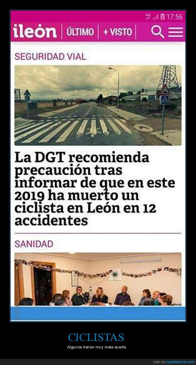 accidentes,ciclista,dgt,fails,muerto