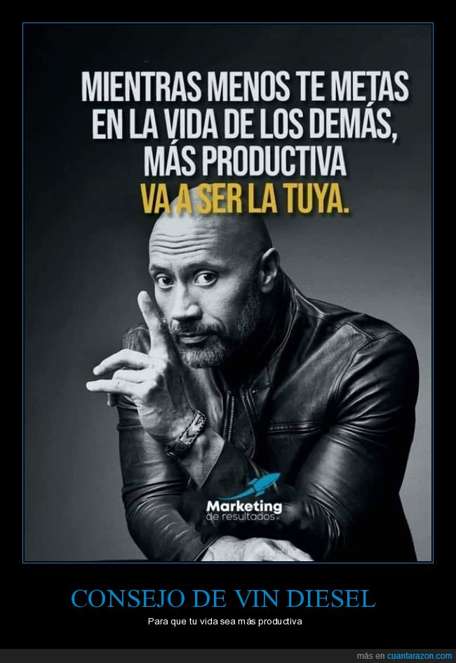 dwayne johnson,productiva,vida