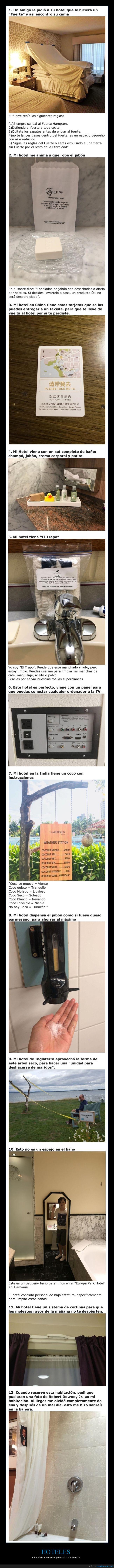 geniales,hoteles,servicios