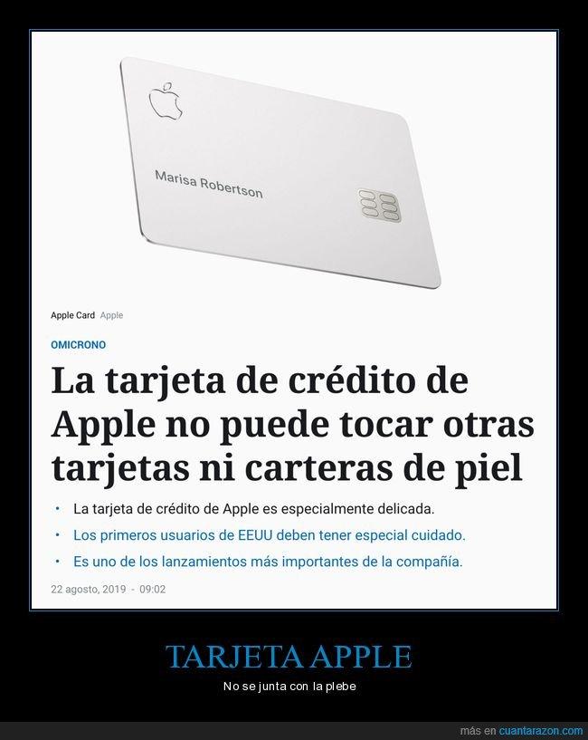 apple,carteras,tarjeta,tocar,wtf