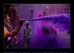 Enlace a El Holi es el festival hindú de los colores que anuncia la llegada de la primavera