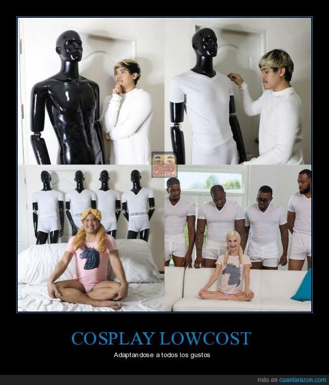 cosplay,cospobre,lowcost cosplay,maniquíes