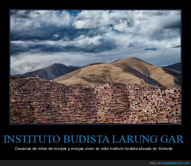 instituto budista,larung gar,sichuán