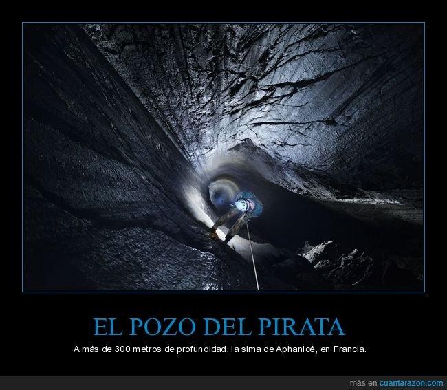 curiosidades,pozo del pirata,sima de aphanicé