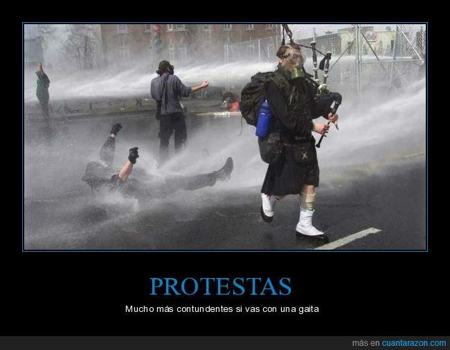 gaita,protesta,wtf