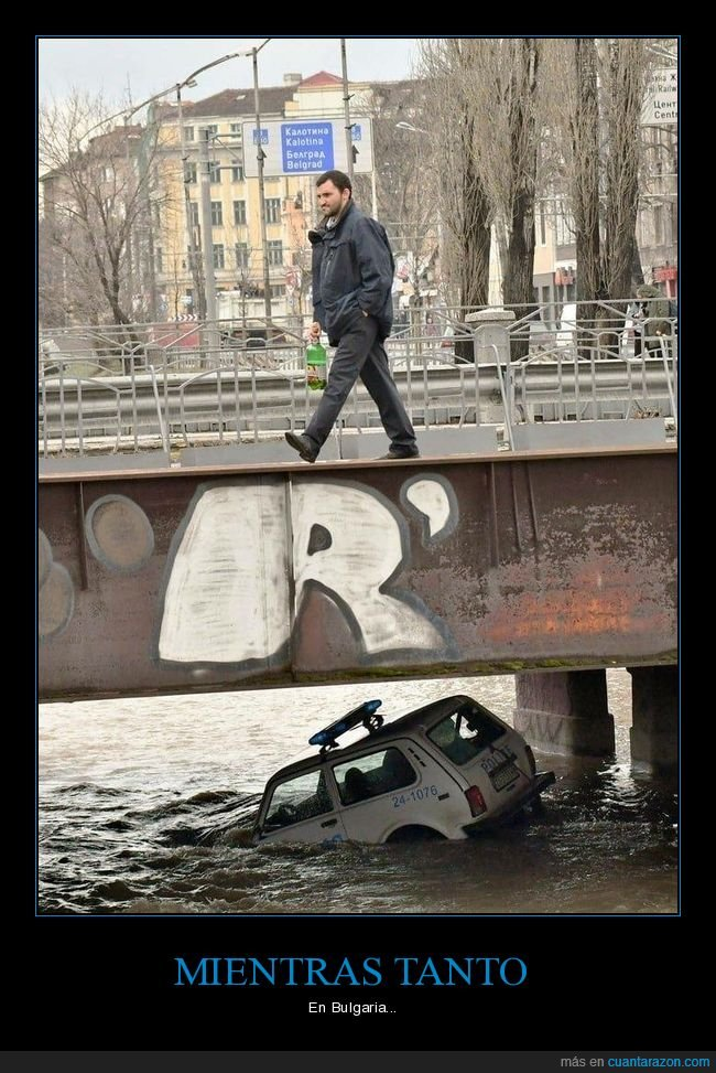 bulgaria,coche,paseando,policía,río