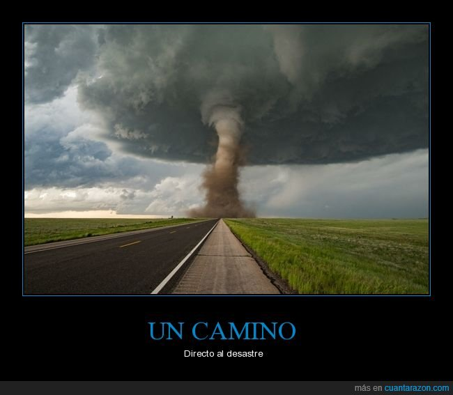 camino,tornado,wtf