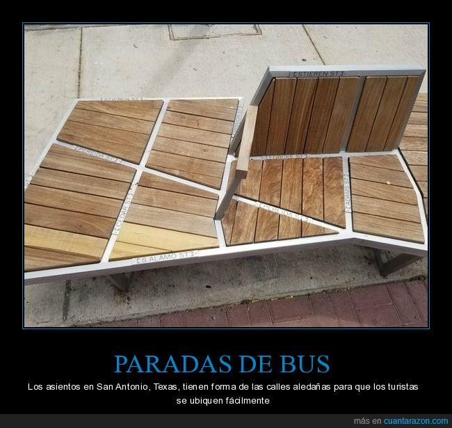 asientos,calles,parada de autobús,san antonio,texas,ubicarse