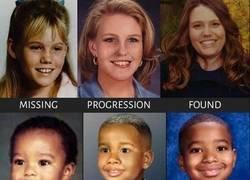 Enlace a Retratos de progresión de edad de niños desaparecidos
