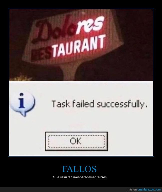 cartel,dolores,fail,restaurante,win,wtf