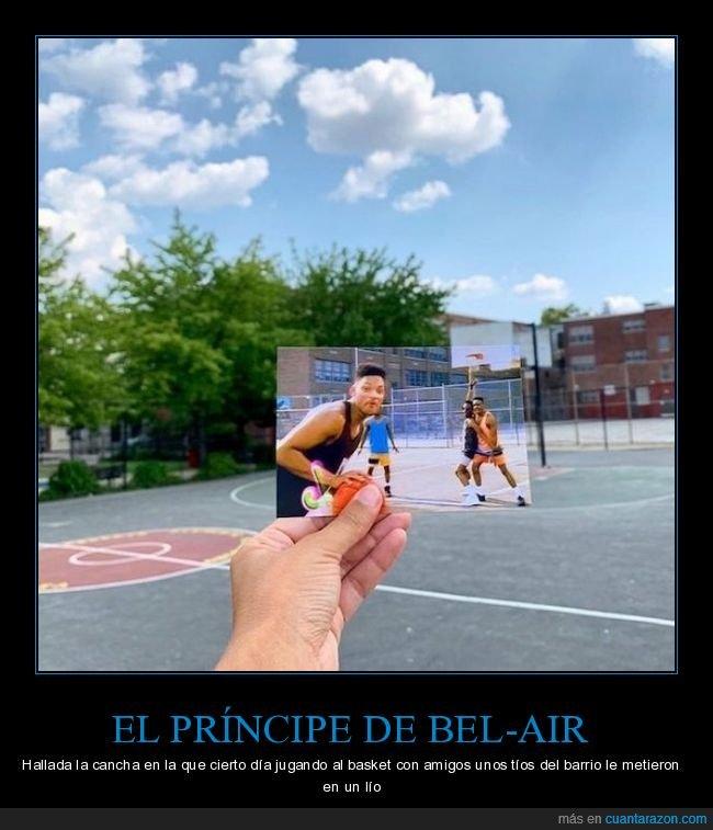 baloncesto,cancha,el príncipe de bel air,foto