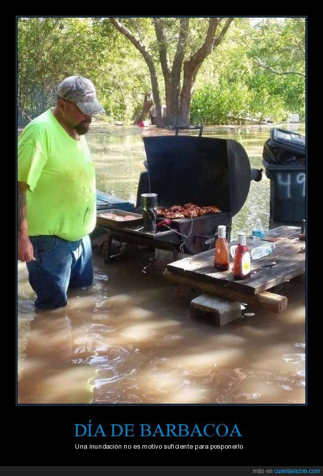 barbacoa,inundación,wtf