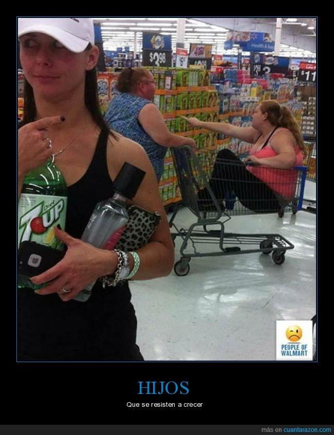 carrito,hija,madre,supermercado,wtf