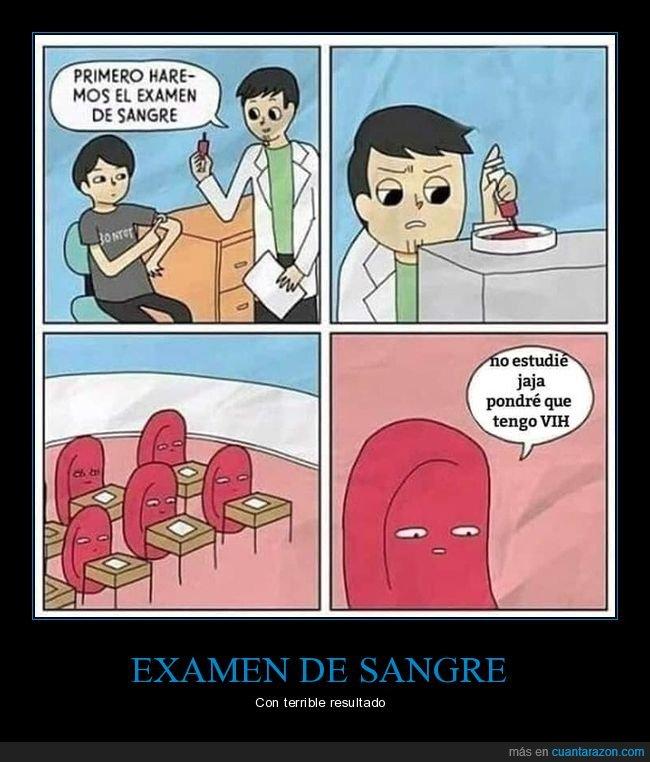 absurdo,examen,sangre,vih