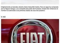 Enlace a El interesante origen de los nombres de estas famosas marcas de coches