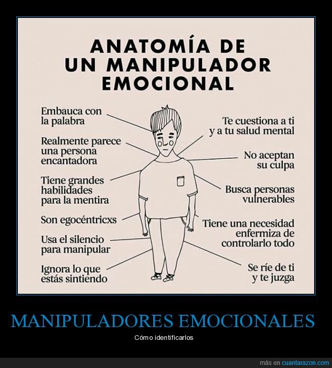 embaucadores,emocional,manipulador