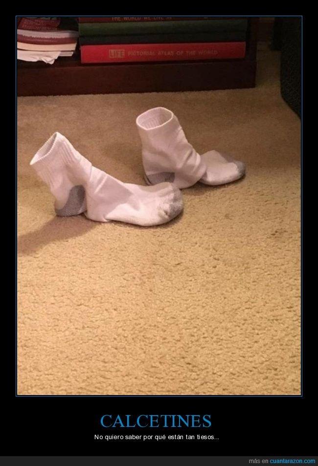 calcetines,tiesos,wtf