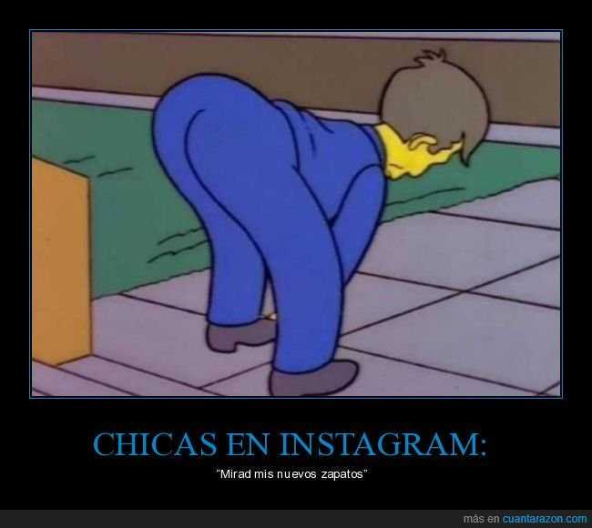 chicas,culo,instagram,simpsons,skinner,zapatos