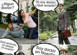 Enlace a Gracias por su ayuda, doctor