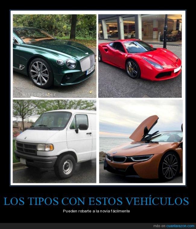 coche,coches,furgoneta,novia,robar,vehículos