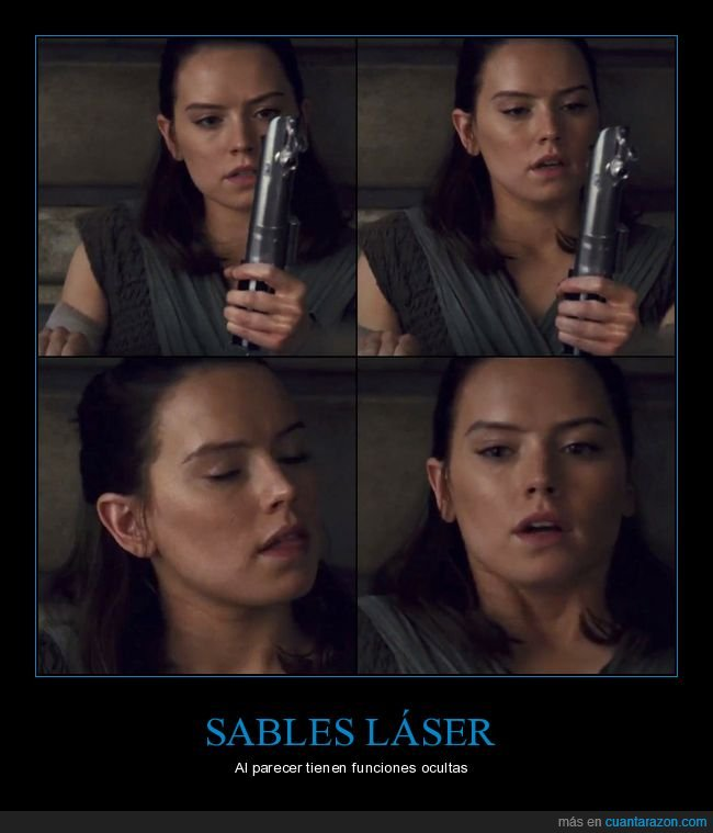 rey,sable láser,star wars