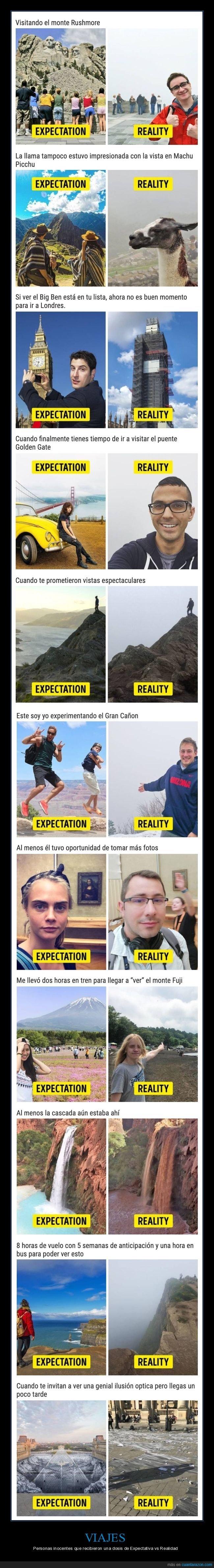 expectativa,fails,realidad,viajes