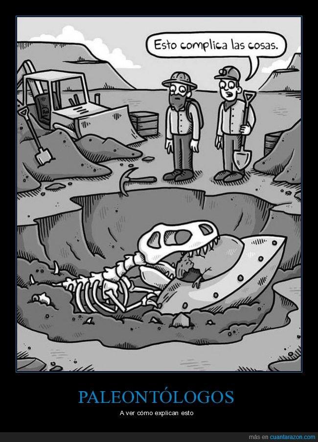 dinosaurio,ovni,paleontólogos