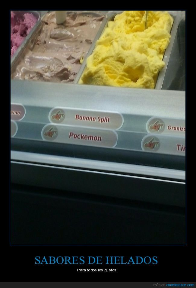 helados,pockemon,pokemon,saboores