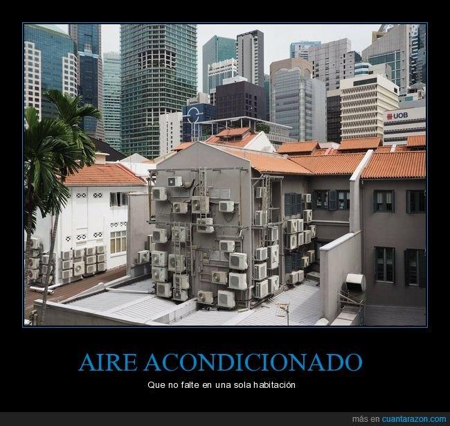 aire acondicionado,edificio,wtf