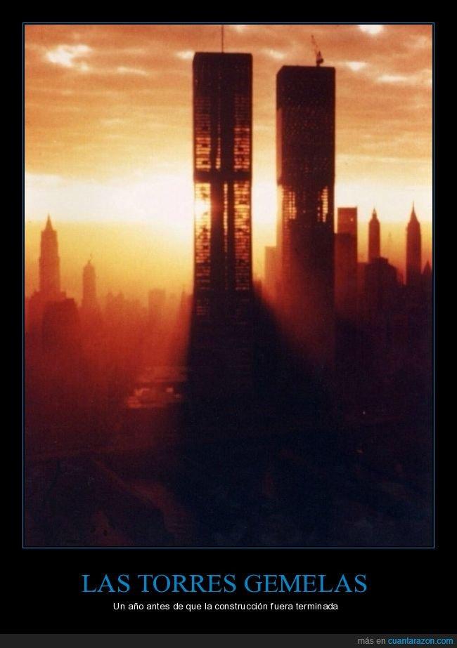 construcción,curiosidades,torres gemelas